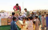 به همت جمعی از خیرین صورت گرفت؛  توزیع ۱۲۶ بسته غذایی در روستاهای مرزی سیستان + گزارش تصویری