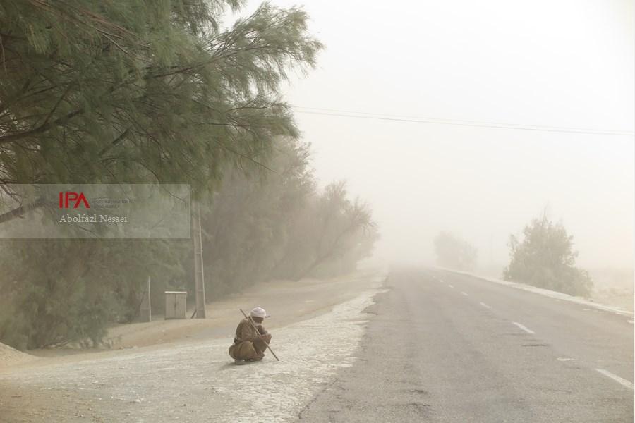 وزش باد با سرعت ۱۰۸ کیلومتر بر ساعت امروز زابل را درنوردید.