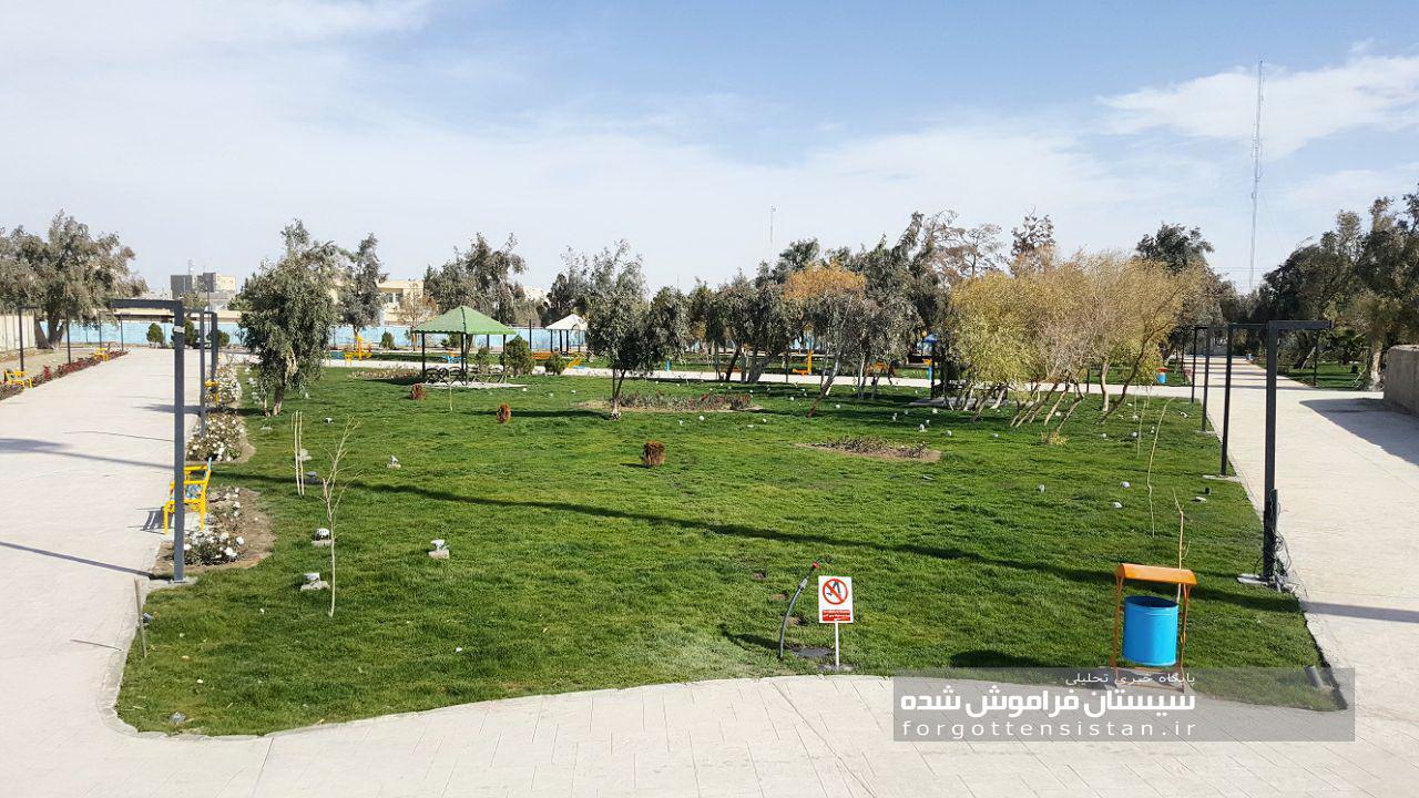 گزارش تصویری از پارک ملت شهر زابل بعد از بازگشایی