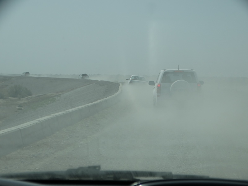 طوفانی با سرعت ۱۰۱ کیلومتر بر ساعت زابل را درنوردید