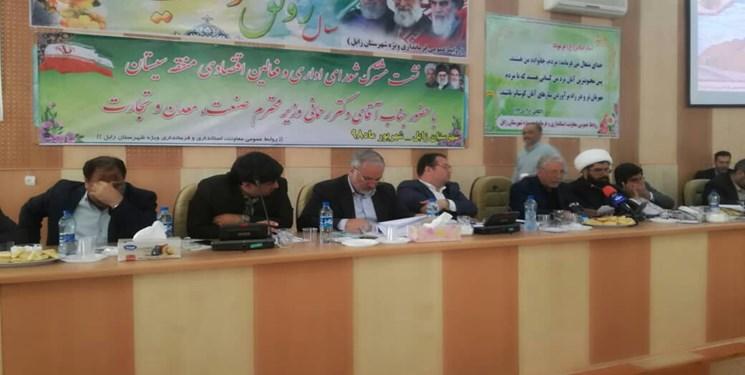 برگزاری شورای اداری سیستان با حضور وزیر صمت در فرمانداری زابل