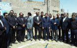 افتتاح پروژه بازآفرینی شهری در زابل با حضور معاون عمرانی وزیر کشور