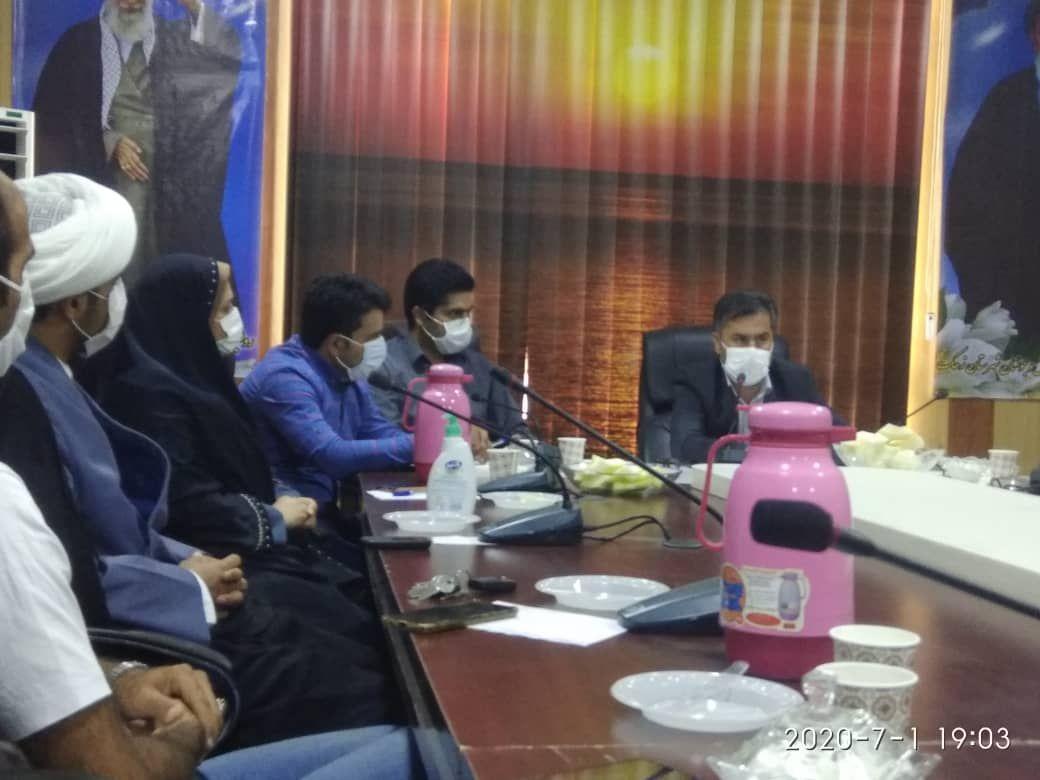 گزارش نشست خبری رئیس اداره ورزش و جوانان زهک با اصحاب رسانه ۹۹/۰۴/۱۱