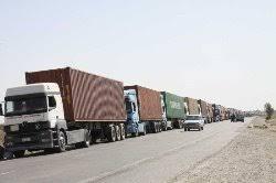 مرز میلک مجددا توسط رانندگان افغان بسته شد
