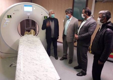 پیگیری صفر تا صد دستگاه سی تی اسکن  بیمارستان زابل  توسط دکتر دهمرده