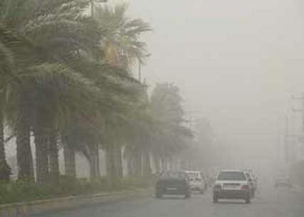 سرعت وزش باد در زابل به ۸۱ کیلومتر برساعت رسید