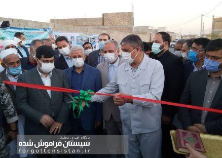 وزیر راه و شهرسازی پروژه ساماندهی و بهسازی معابر حاشیه شهر زابل را افتتاح کرد + تصاویر