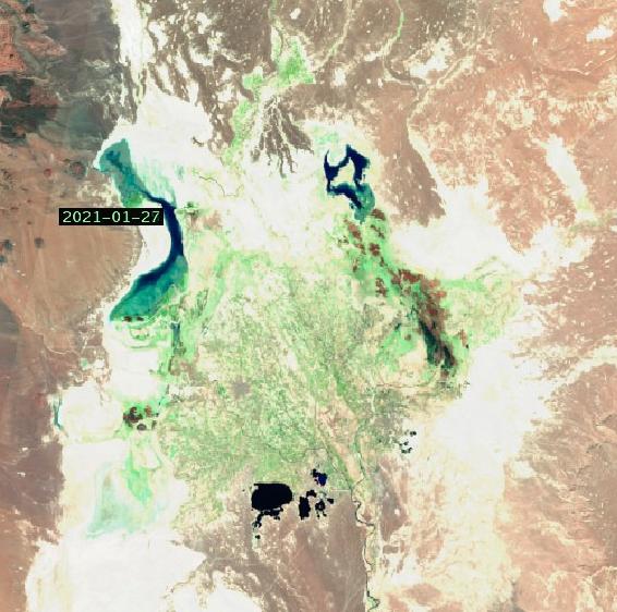 آخرین وضعیت آب موجود در هامون ها بتاریخ ۹۹/۱۱/۱۴