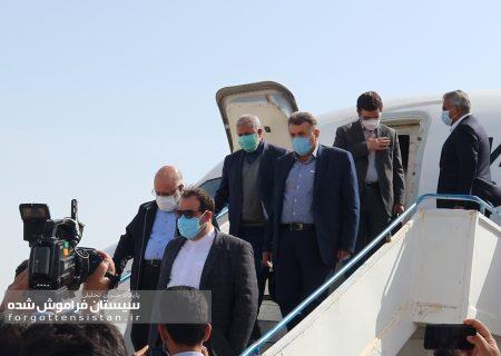 گزارش تصویری سفر وزیر نفت به منطقه سیستان