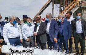 گزارش تصویری بازدید بانیان چاه آب ژرف ایران
