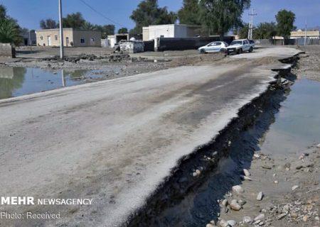 مدیرکل راهداری سیستان و بلوچستان: بارندگی ۴۰۰ میلیارد به راههای شمال استان خسارت زد
